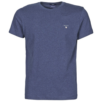 material Men short-sleeved t-shirts Gant THE ORIGINAL T-SHIRT Marine / Mix