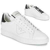 Shoes Men Low top trainers Emporio Armani  White
