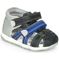 Shoes Boy Sandals Chicco GABRIEL Blue / Grey