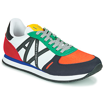 Shoes Men Low top trainers Armani Exchange ESPACIA Multicolour
