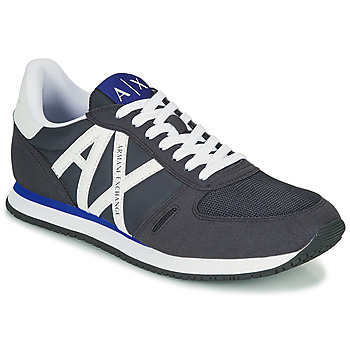 Shoes Men Low top trainers Armani Exchange ESPACIA Blue / Marine