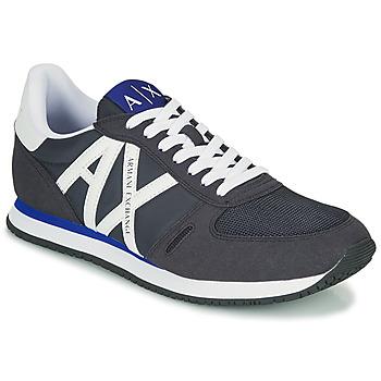 Shoes Men Low top trainers Armani Exchange ESPACIA Blue / Marine