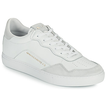 Shoes Men Low top trainers Armani Exchange AMELIA White