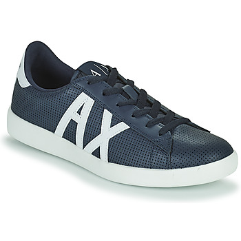 Shoes Men Low top trainers Armani Exchange TRAORIA Blue / Marine