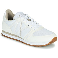 Shoes Women Low top trainers Armani Exchange VINCENTI White