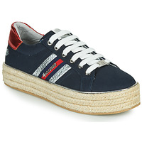 Shoes Women Low top trainers Dockers by Gerli 46GV202-660 Blue
