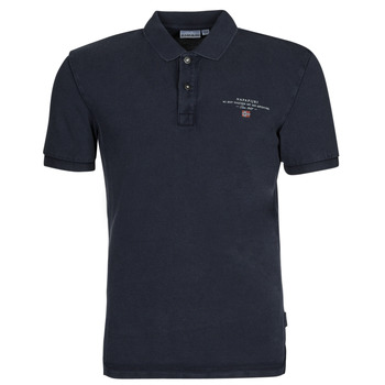 material Men short-sleeved polo shirts Napapijri ELBAS 4 Marine