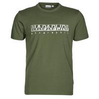 material Men short-sleeved t-shirts Napapijri SALLAR SS Green