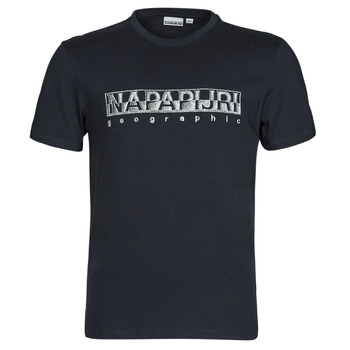 material Men short-sleeved t-shirts Napapijri SALLAR SS Marine