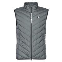 material Men Duffel coats Emporio Armani EA7 TRAIN CORE SHIELD M DOWN LIGHT VEST Grey
