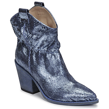 Shoes Women Ankle boots Fru.it 6901-376-BLUE Blue