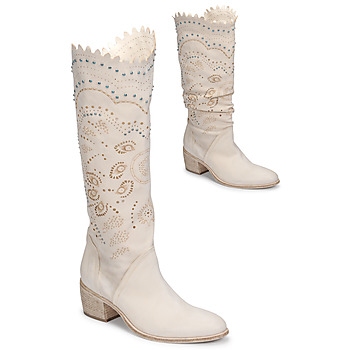 Shoes Women Boots Fru.it 7000-142-GESSO Beige