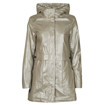 material Women Parkas One Step DIEGO Silver