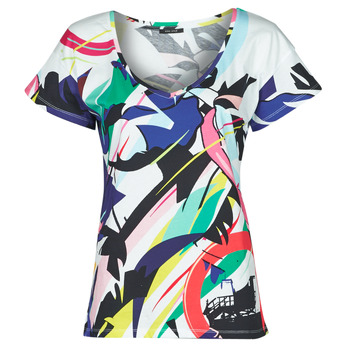 material Women short-sleeved t-shirts One Step MONA Multicolour