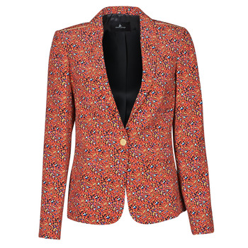 material Women Jackets / Blazers One Step VINNY Red / Multicolour