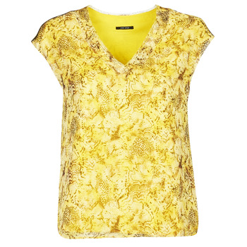 material Women Blouses One Step CALI Yellow