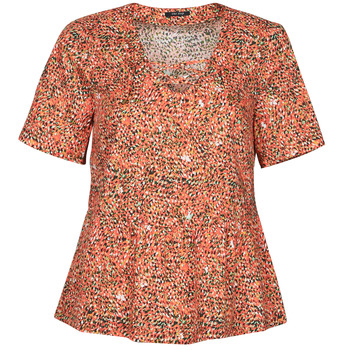 material Women Blouses One Step CARA Red / Multicolour