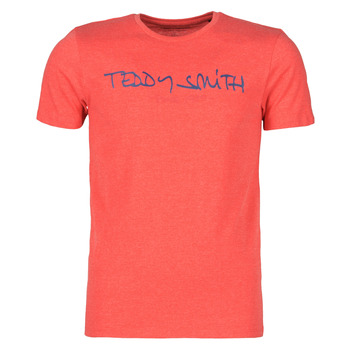 material Men short-sleeved t-shirts Teddy Smith TICLASS Red