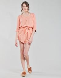 material Women Jumpsuits / Dungarees Rip Curl TALLOWS SPOT ROMPER Peach