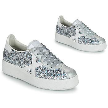 Shoes Women Low top trainers Munich BARRU SKY 65 Silver / White