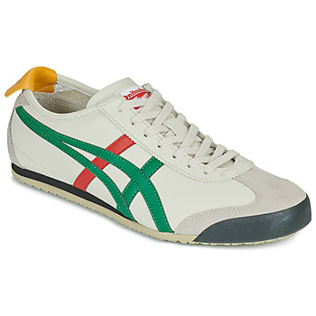 Shoes Low top trainers Onitsuka Tiger MEXICO 66 White / Green / Red