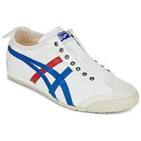 Shoes Low top trainers Onitsuka Tiger MEXICO 66 SLIP ON White / Blue / Red
