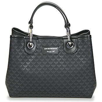 Bags Women Handbags Emporio Armani BORSA SHOPPING Black
