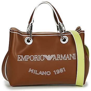 Bags Women Handbags Emporio Armani BORSA SHOPPING Camel