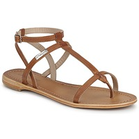 Shoes Women Sandals Les Tropéziennes par M Belarbi HILAN Tan