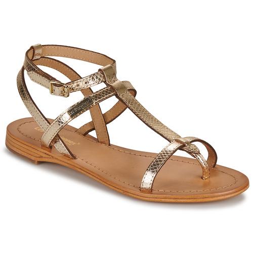 Shoes Women Sandals Les Tropéziennes par M Belarbi HILAN Gold