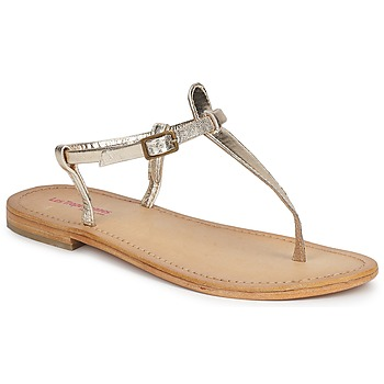 Shoes Women Sandals Les Tropéziennes par M Belarbi NARVIL Gold