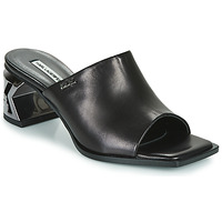 Shoes Women Mules Karl Lagerfeld K-BLOK SQUARE TOE MULE Black