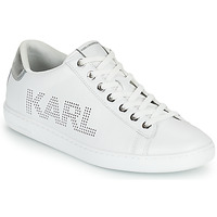 Shoes Women Low top trainers Karl Lagerfeld KUPSOLE II KARL PUNKT LOGO LO White
