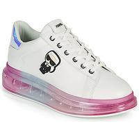 Shoes Women Low top trainers Karl Lagerfeld KAPRI KUSHION KARL IKONIC LO LACE White / Multicolour