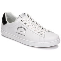 Shoes Men Low top trainers Karl Lagerfeld KOURT II MAISON KARL LACE White
