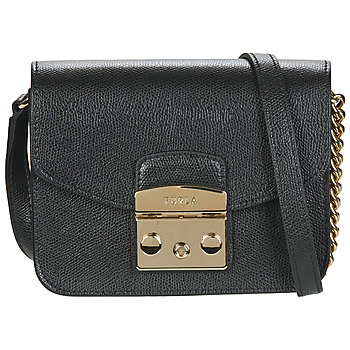 Bags Women Shoulder bags Furla METROPOLIS MINI CROSSBODY Black