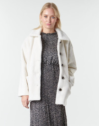 material Women coats Betty London NUMIM Ecru