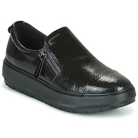 Shoes Women Low top trainers Geox D KAULA Black
