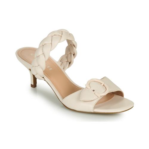 Shoes Women Mules Coach MOLLIE Ivory