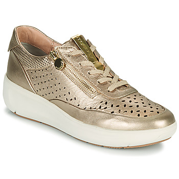 Shoes Women Low top trainers Stonefly ROCK 10 Gold