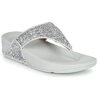 Shoes Women Flip flops FitFlop LULU GLITTER Silver