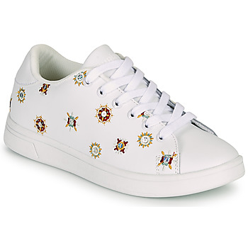 Shoes Women Low top trainers Desigual COSMIC JULIETTE White