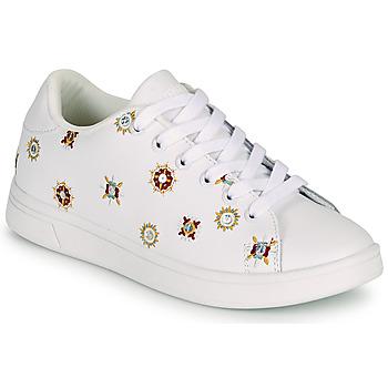 Shoes Women Low top trainers Desigual COSMIC JULIETTE White