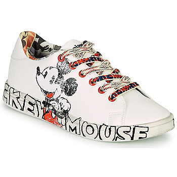 Shoes Women Low top trainers Desigual COSMIC MICKEY White