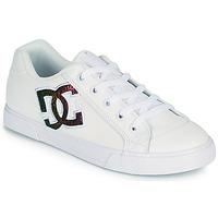 Shoes Women Skate shoes DC Shoes CHELSEA J White / Pink