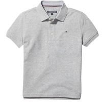 material Boy short-sleeved polo shirts Tommy Hilfiger CORTES Grey