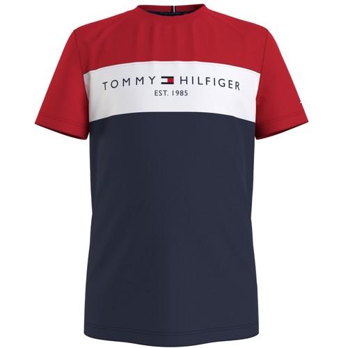 material Boy short-sleeved t-shirts Tommy Hilfiger KB0KB06534-C87 Multicolour