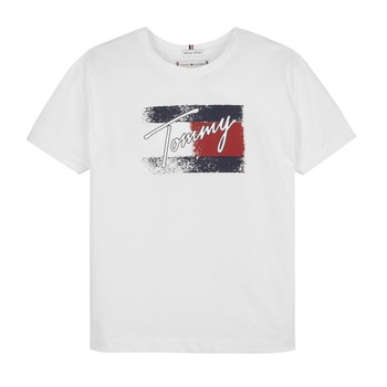 material Girl short-sleeved t-shirts Tommy Hilfiger MONCHE White