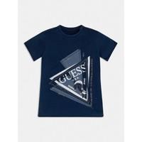material Boy short-sleeved t-shirts Guess L1RI15-K8GA0-F233 Blue