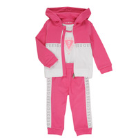 material Girl Sets & Outfits Guess S1RG02-KA6W0-G607 Pink / White